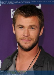 Chris Hemsworth, talent, Ausfilm