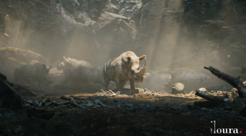 Iloura Creates Ravaging Rhinos For Jumanji Welcome To The Jungle Ausfilm