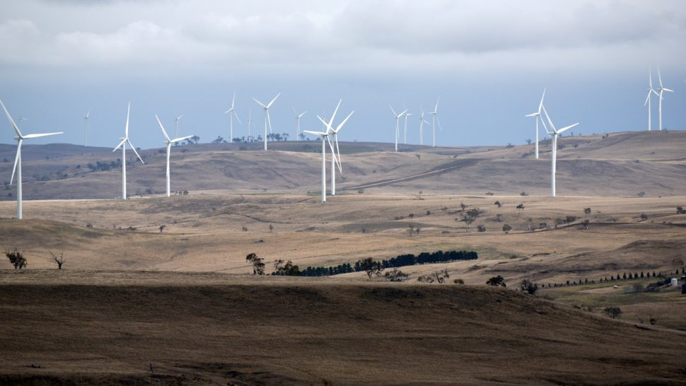 Wind farms, South West of Nimmitabel