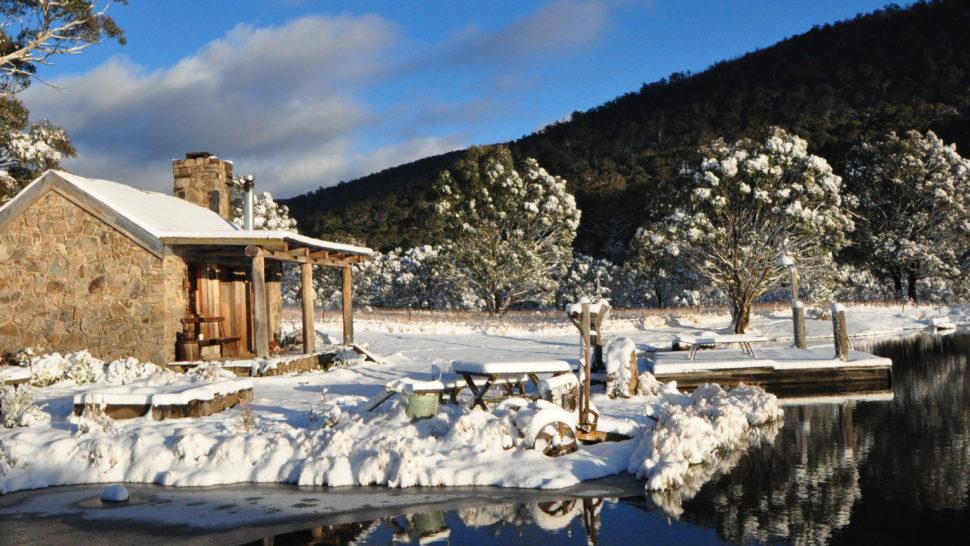 Moonbah Lake Huts